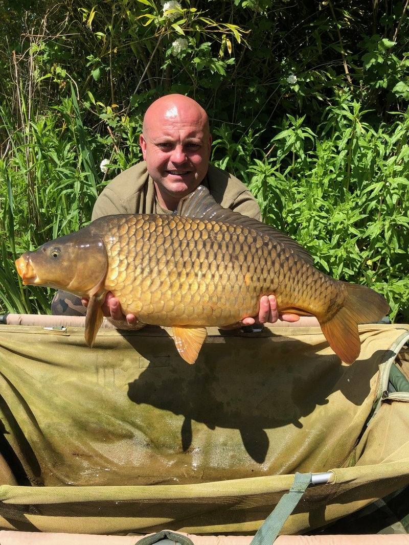 Graham Barker with a stunning Ghost Common of 17-08
