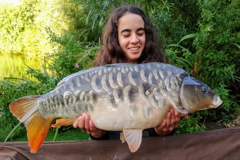 The Alam family voted Hannah's 18-04 as the best looking Carp of the week.