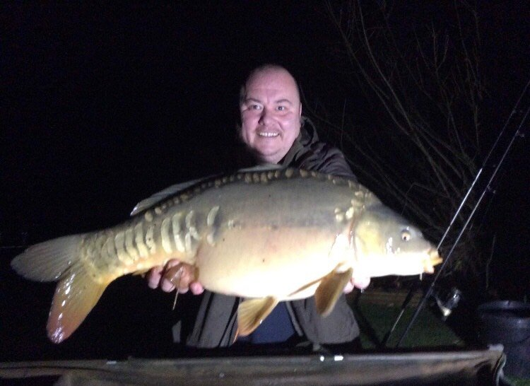 Davy Jones was first off the mark with this 18-09 Mirror from Cherry Springs