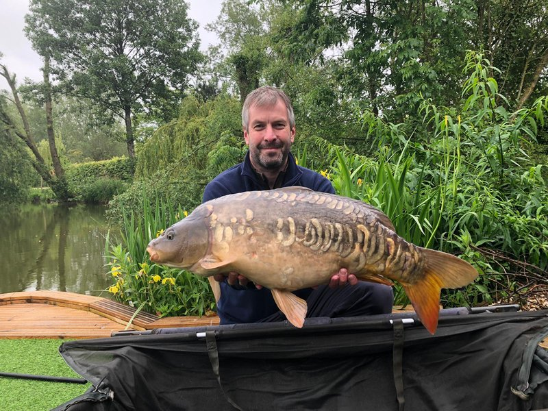 Matthew with a good looking Mirror of 19-14 from Kingfisher Lodge