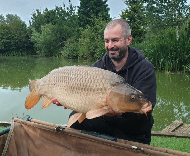Matt with a good looking Common of 20-02