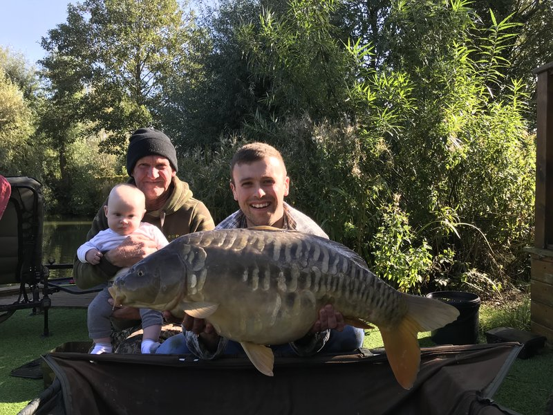 James Rangeley increased his PB, with this 23-10 Mirror from Cherry Springs