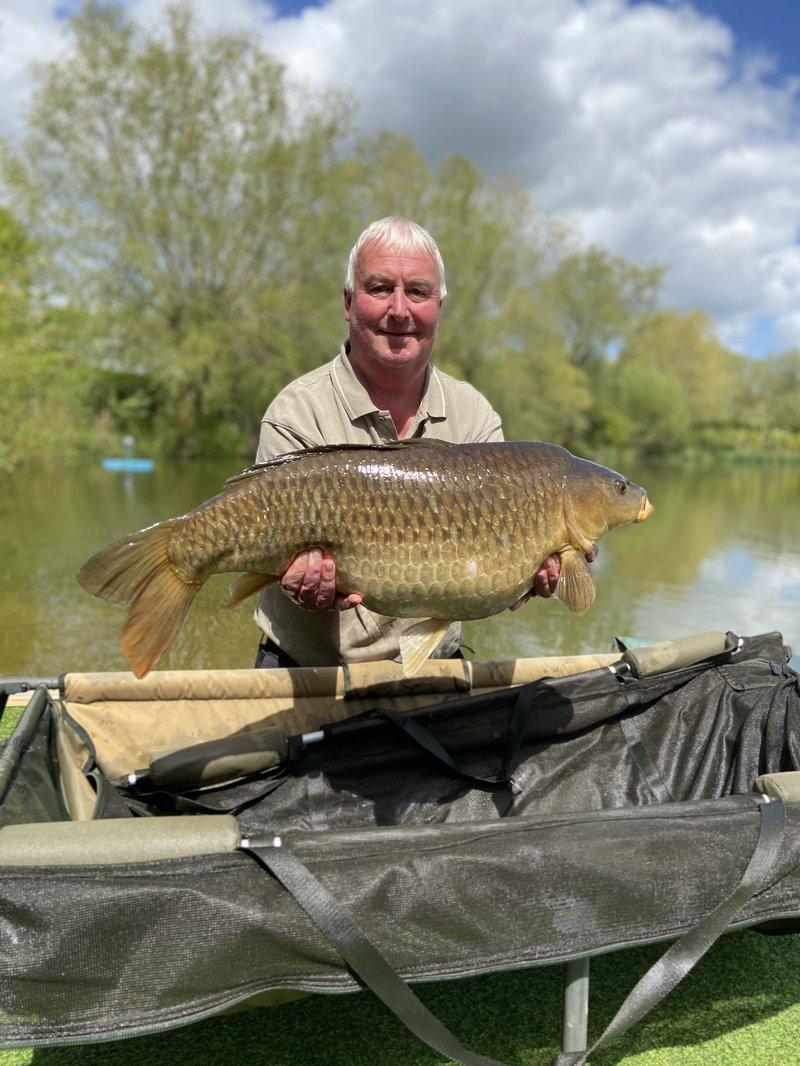 Gary Thomas with an impressive Common of 24-04