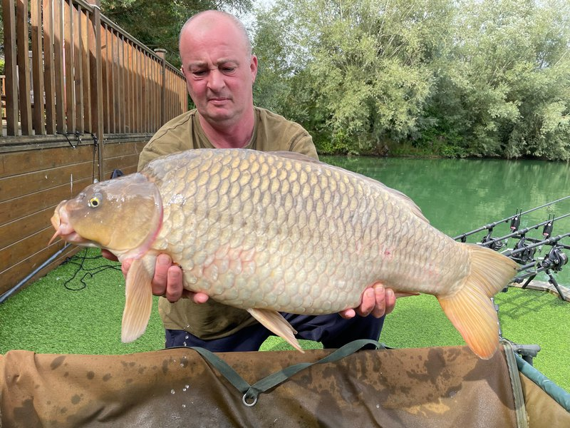 Dave with a lovely Ghost Common of 24lb