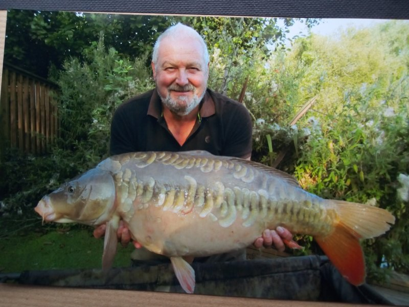 Brian Round with the biggest of his three 20's.....a 26-02 Mirror from Cherry Springs
