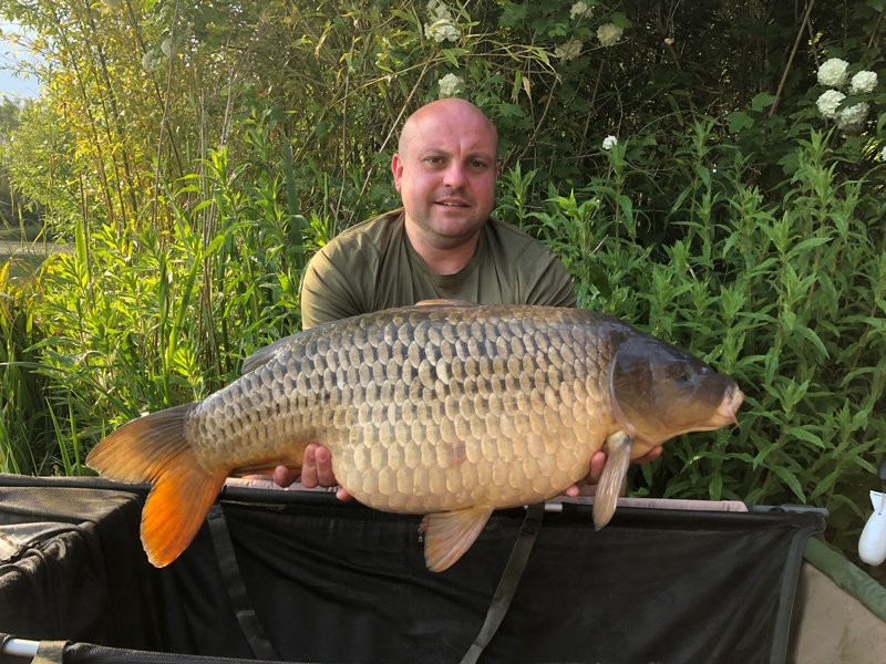 Jamie Vowles with an impressive 28-06 Common from Heron Lodge