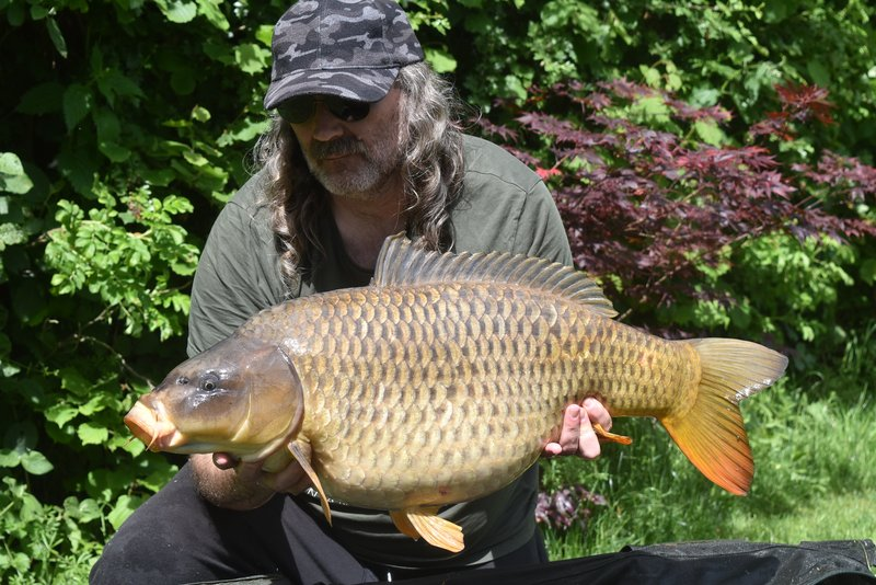 Paul Mitchell with a feisty 29-00 Common from Cherry Lake Cottage