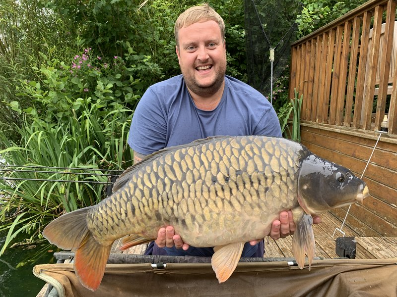 Steven Smith with a stunning 29-10 Fully Scaled Mirror