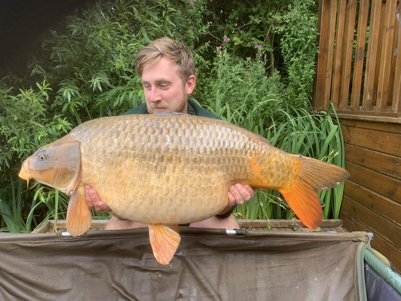 Jack Gardiner with a 34-10 Ghost Common from Grebe Lodge