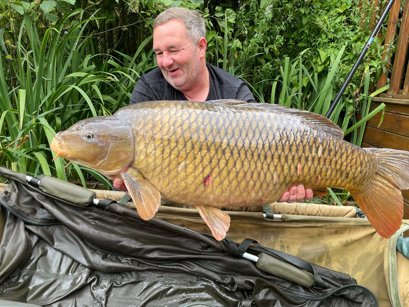 Lee Smith with a Common of 38-03. His new PB