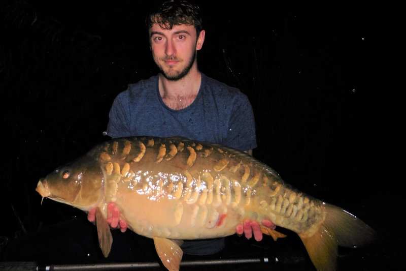 Jake Hughes with a 24-07 Mirror from Cherry Springs