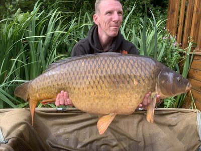 Alan French joined the 30+ club at the first time of asking with this 33lb Common.