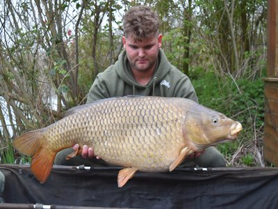 Joe Baker with an immaculate 30-08 Cherry Lake Common