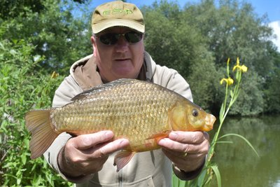 Kevin Lane 2-04 Crucian Carp from Cherry Springs