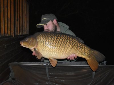 Thomas 'Tommo' Etchell with his 32-08 Common from Osprey Lodge
