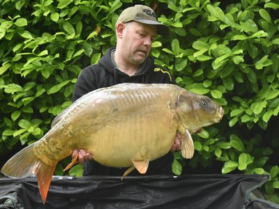 Mike Houghton. 37-08 Ghost Mirror from Cherry Lake Cottage