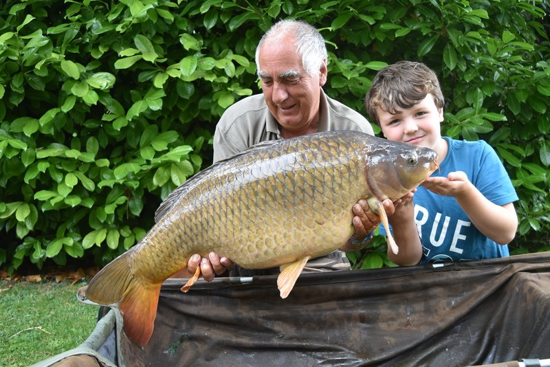 Steve Shelly and Jack with a 30-08 Common from Cherry Lake Cottage