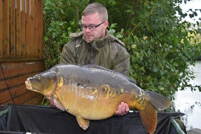 Jake Snelling with 'Dick' at 43lb