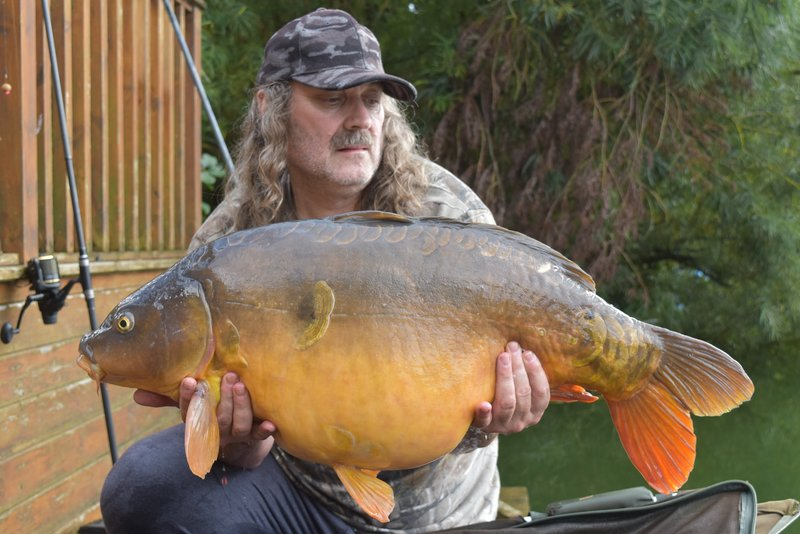 Paul Mitchell with 'Apple Slice' at 34-08 from Osprey Lodge