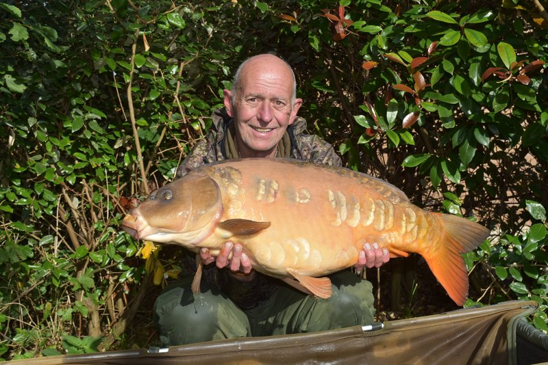 Lee Jackson with 'The Peach' at 30-14, caught from Osprey Lodge