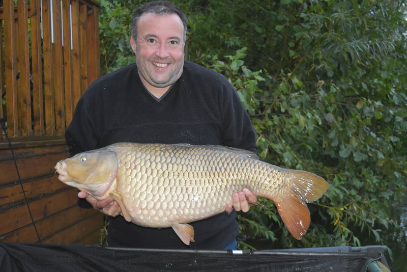 Manuel Fernandez was delighted with his 30-08 PB Common from Grebe Lodge