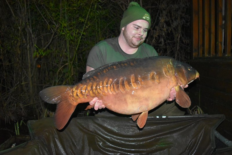 Ryan with 'The Pretty One' at 38-02. What a way to start the new year!