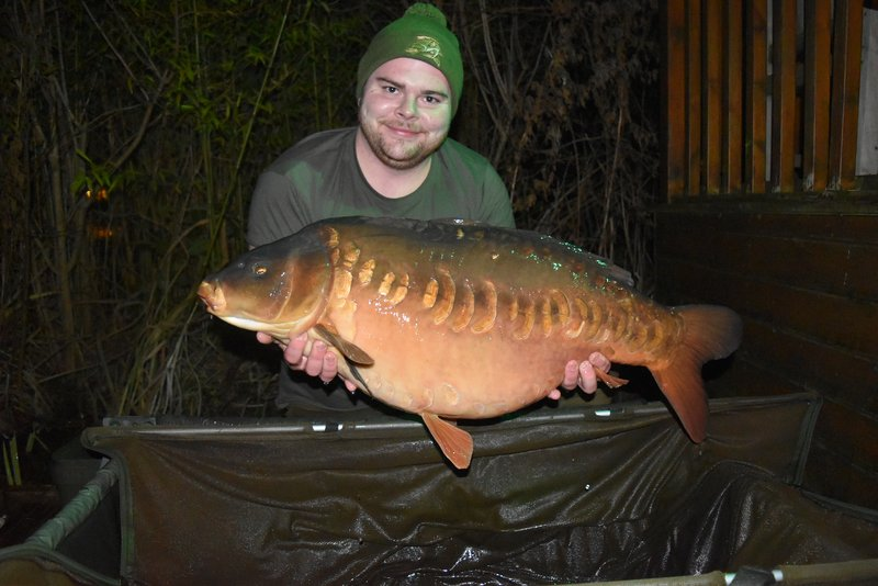 Ryan Young with 'The Pretty One' at 38-02. What a way to start the New Year