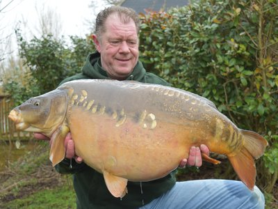 Charlie England with a stunning 38-02 Mirror. This was last caught in August 2018