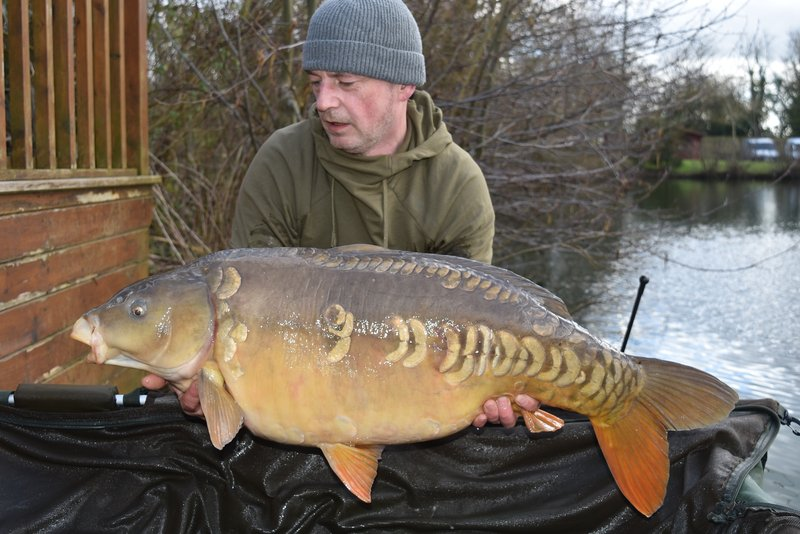 Martin Hurst joined the 30+ club when he landed this stunning 30-04 Mirror