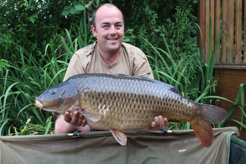 Damien Baker became the 99th member of the Cherry Lakes 30+ club when he landed the 'Scuff Common' at 32-04 from Grebe Lodge
