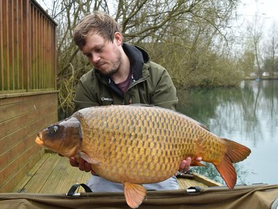 Dan Warden with his new PB. A magnificent 31-04 Ghost Common from Osprey Lodge on Cherry Lake.