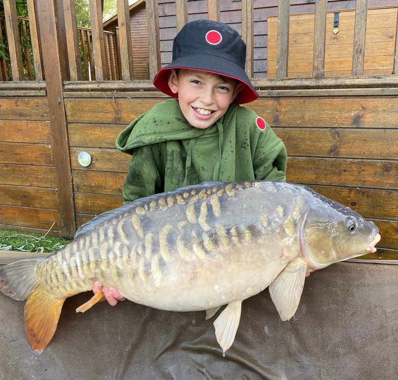 Sam Richardson smashed his PB with this 29-01 Mirror from Cherry Mere