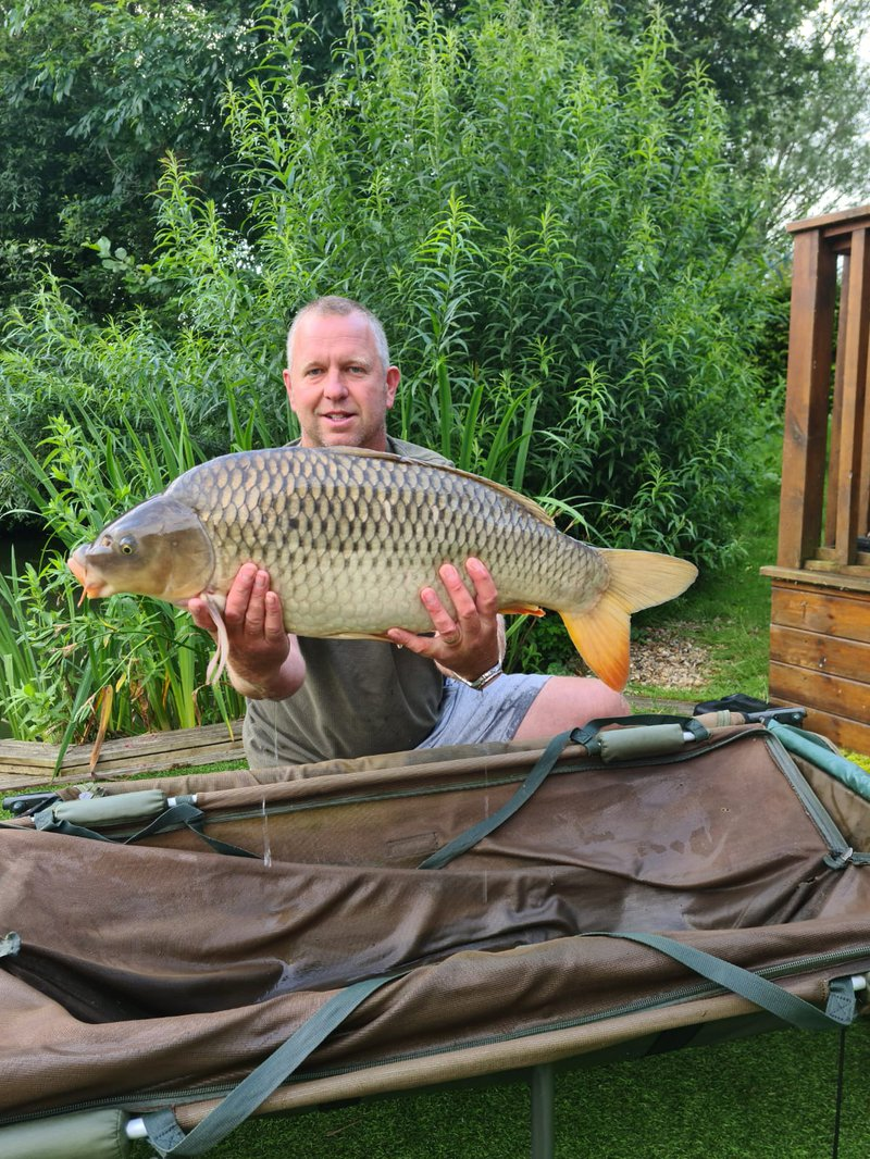 Chris Piggot with a 22lb Common from Cherry Springs