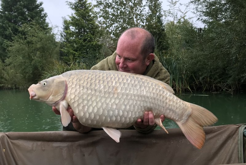 Phil was very pleased with this 22lb Ghost Common