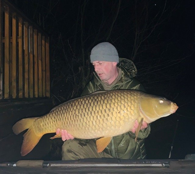 Martin Hurst with a 23-08 Common caught a few hours after the Mirror to make a well earned brace