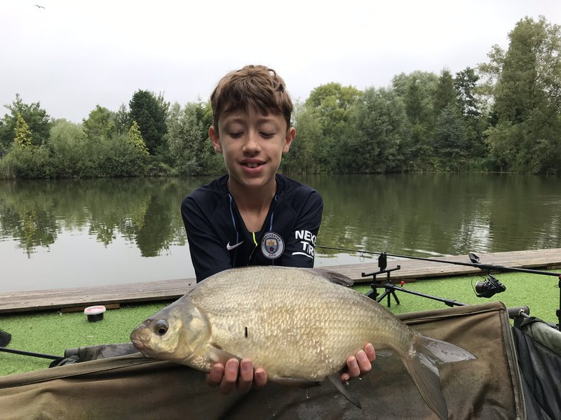 Alfie Atkinson with a 6-08 Bream