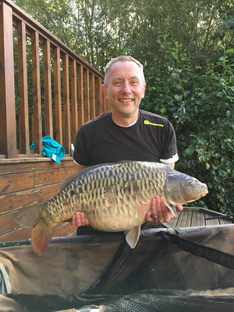 Mark Chandler with his new PB, a 27-08 Fully Scaled Mirror