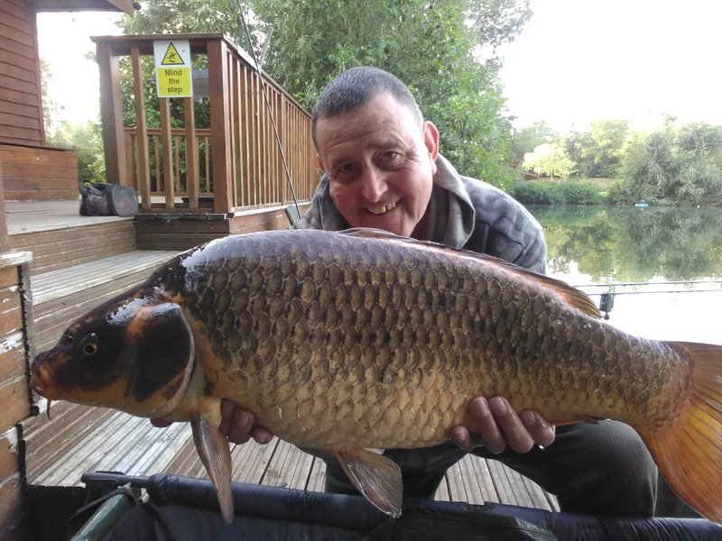 STuart Markham with a 18-01 koi like Common