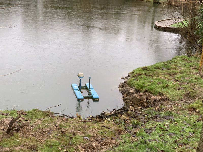 The 'u' in the bank should prove to be a safer home for the aerator