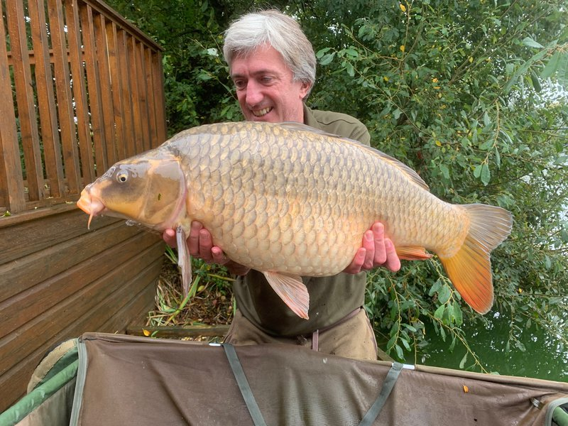 Andy Watts with a lovely Ghost Common of 19-08