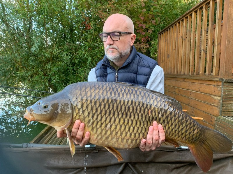 James Morris with his 29-02 Common from Grebe Lodge