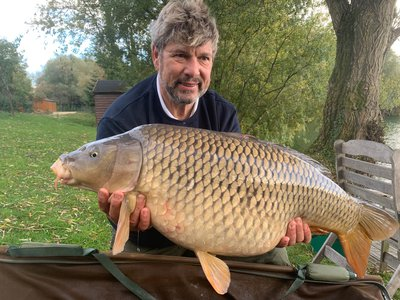 Chris Hughes with a 33-02 Common from the Cottage