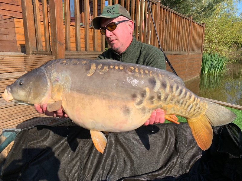 Lee Clarke became the 200th member of the 30+ club with this 33-04 Cherry Mere Mirror