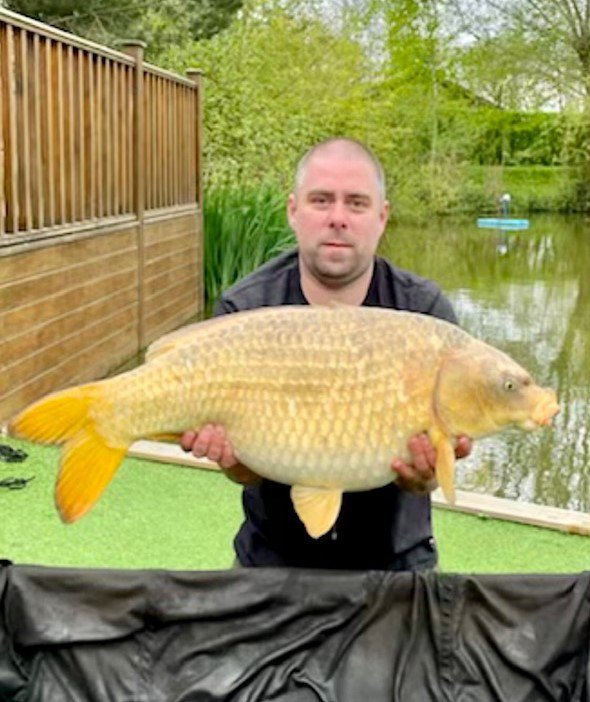 Dave Horney with a stunning 26-02 Ghost Common from Cherry Mere