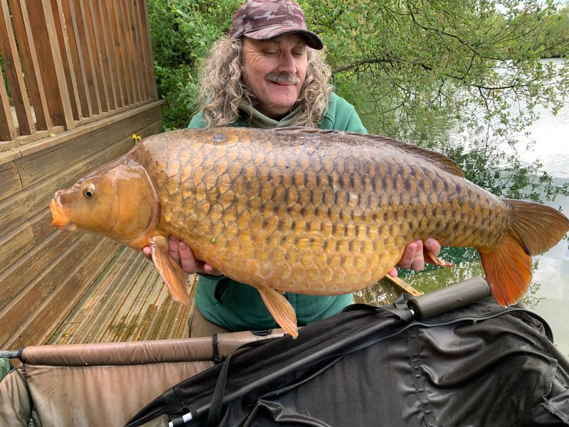 'The Hairy Carper',  Paul Mitchell with a Common of 35-08