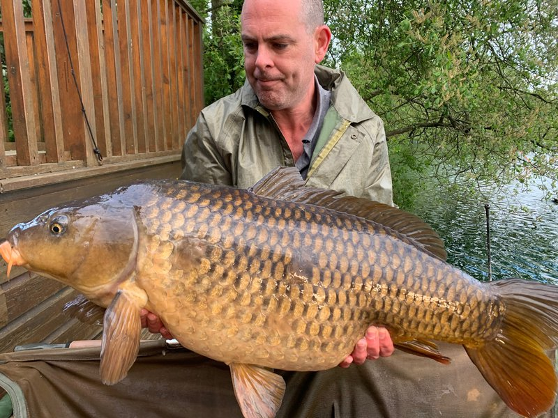 John Holland with a 32-04 Common. A new30+ for Cherry Lake.