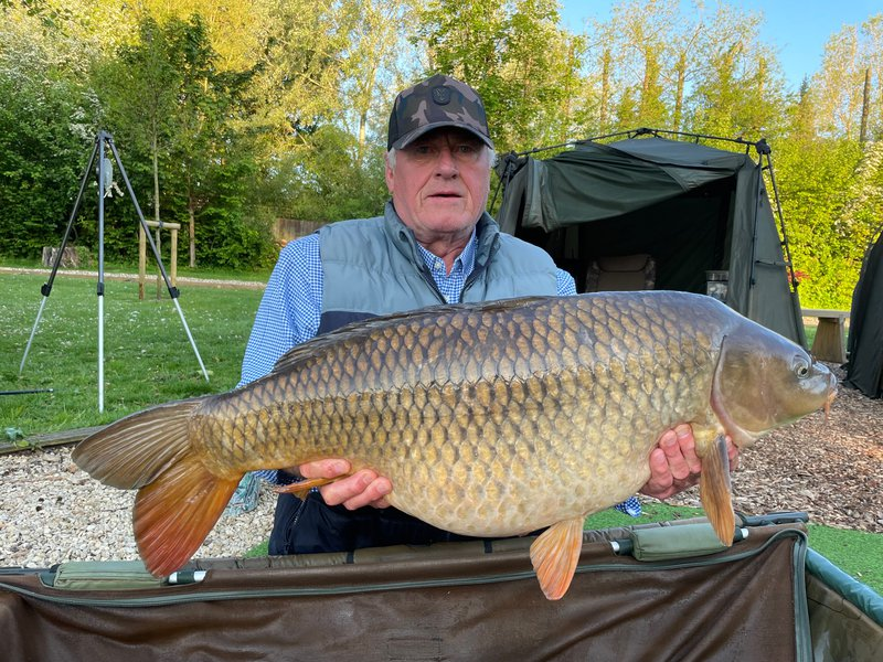 John Smith with a 35-12 Common from the Cottage swim.