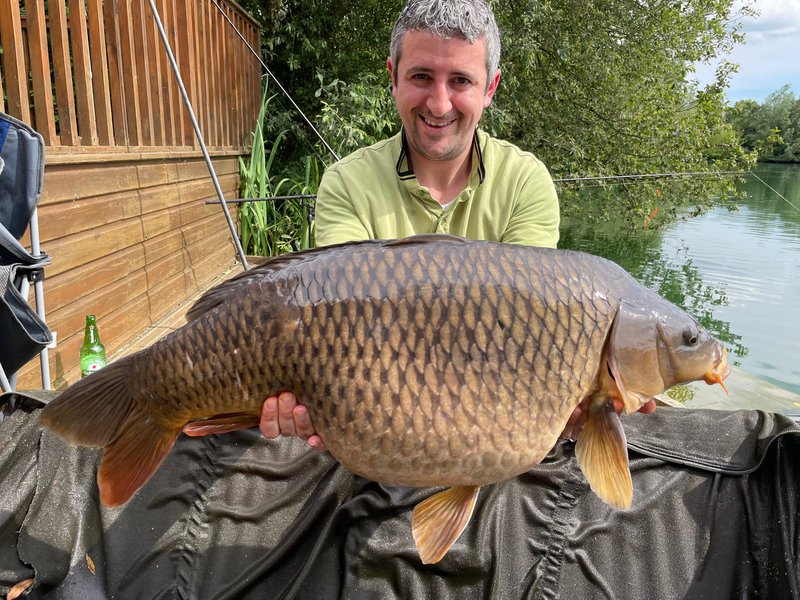 Alan Fawzy with a 29-02 Common from Heron Lodge
