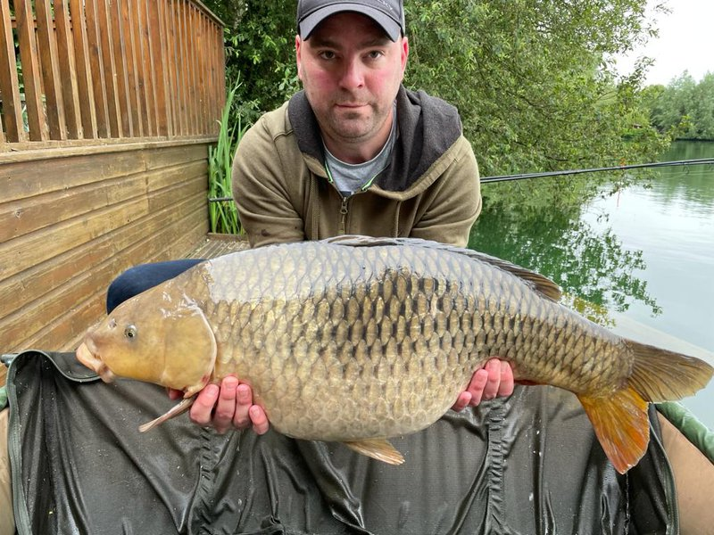 Tim Sidwell with a 29-04 Common from Heron Lodge.