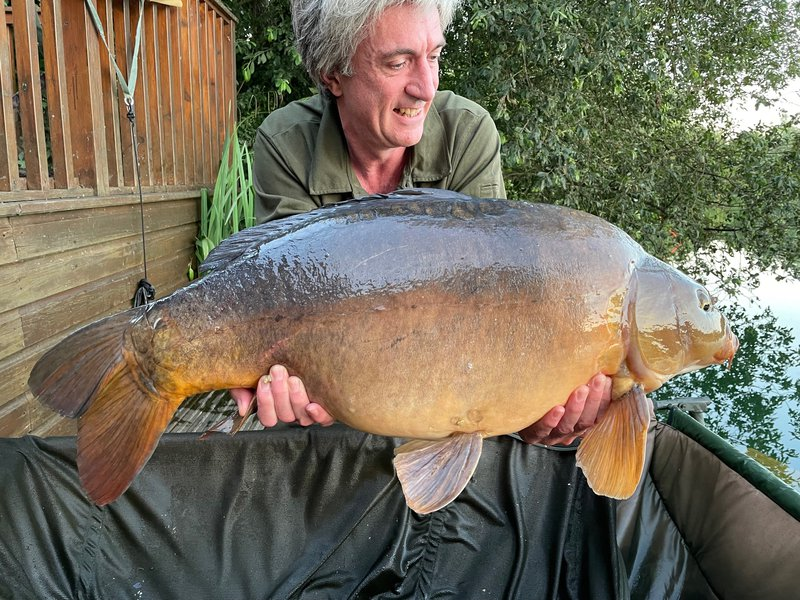 Andy Watts with 'Pac-mans mate' at 32-08